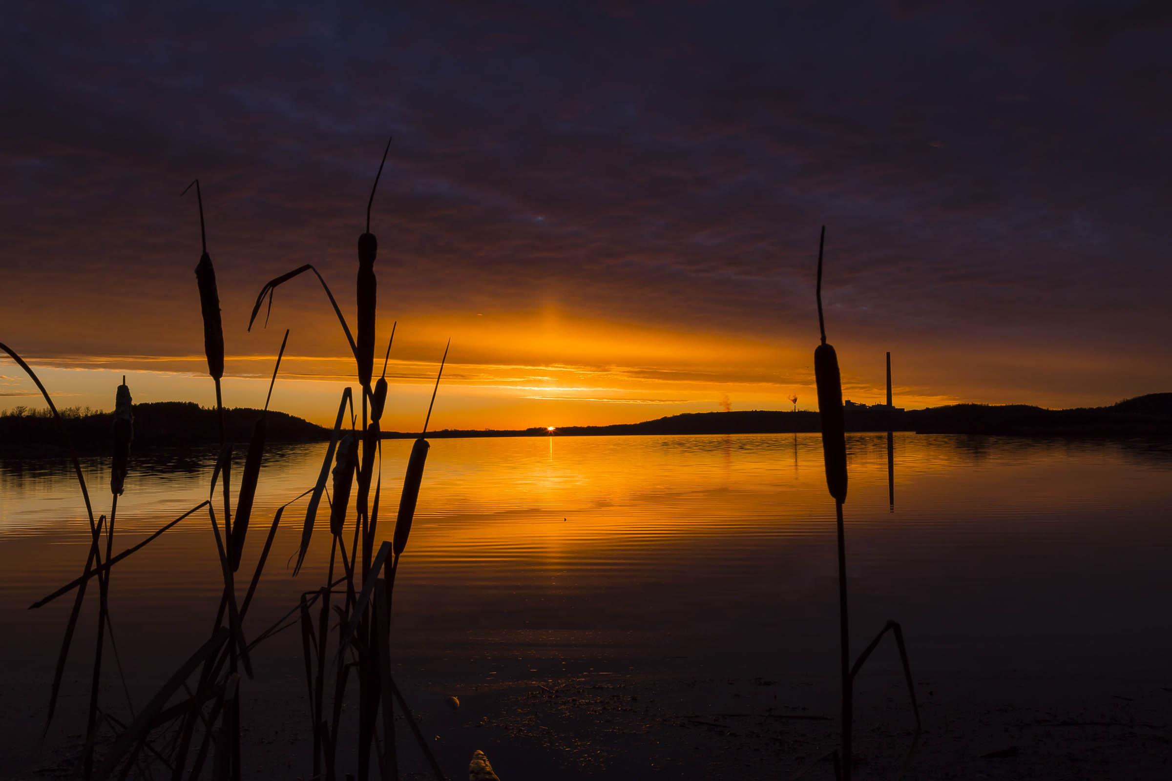 Kelly Lake Sunset