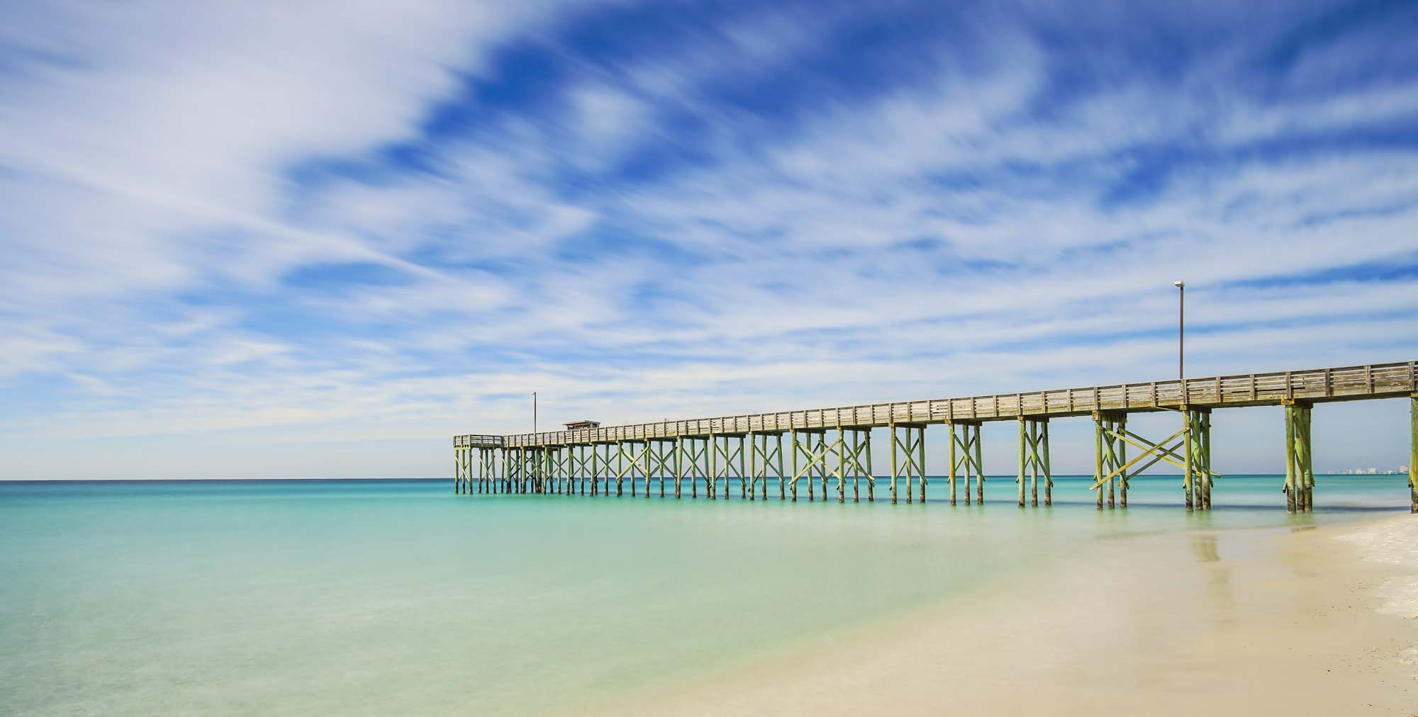 St. Andrew's State Park Pier
